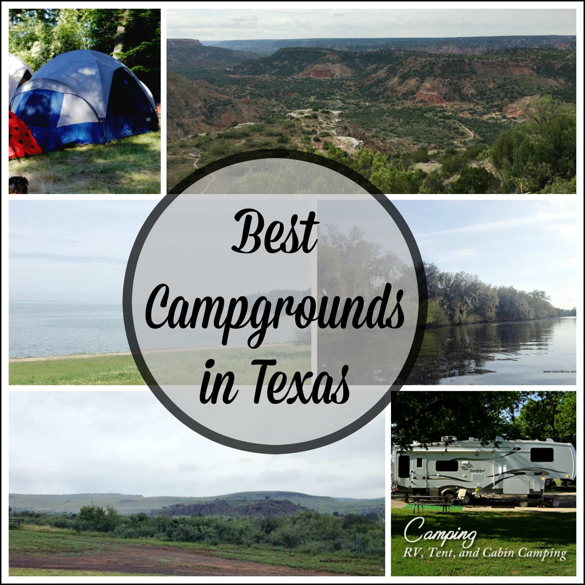 Best Campgrounds in Texas