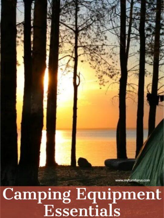 best camping equipment essentials