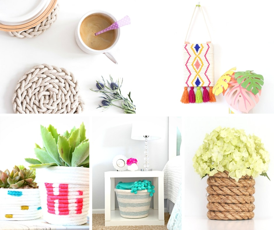 23 Of The Best Diy Craft Rope Projects My Turn For Us
