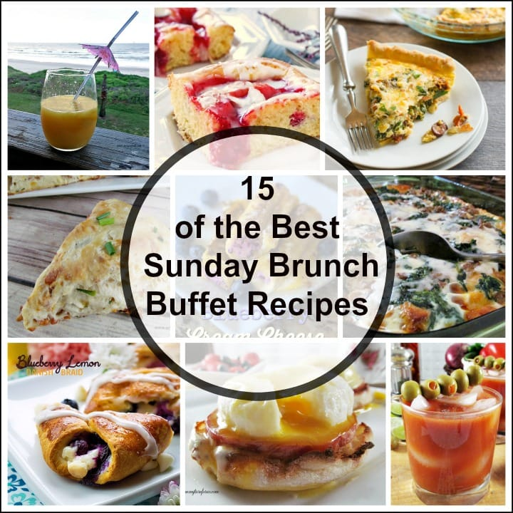 Sunday Brunch Buffet Recipes