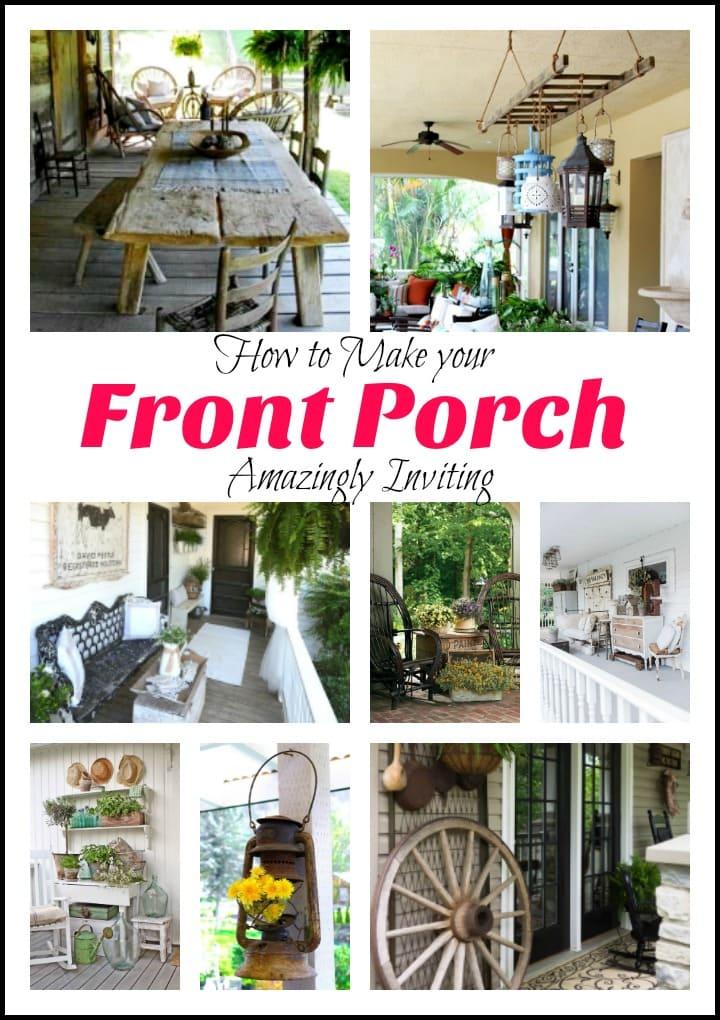 Front Porch, Farmhouse Front Porch