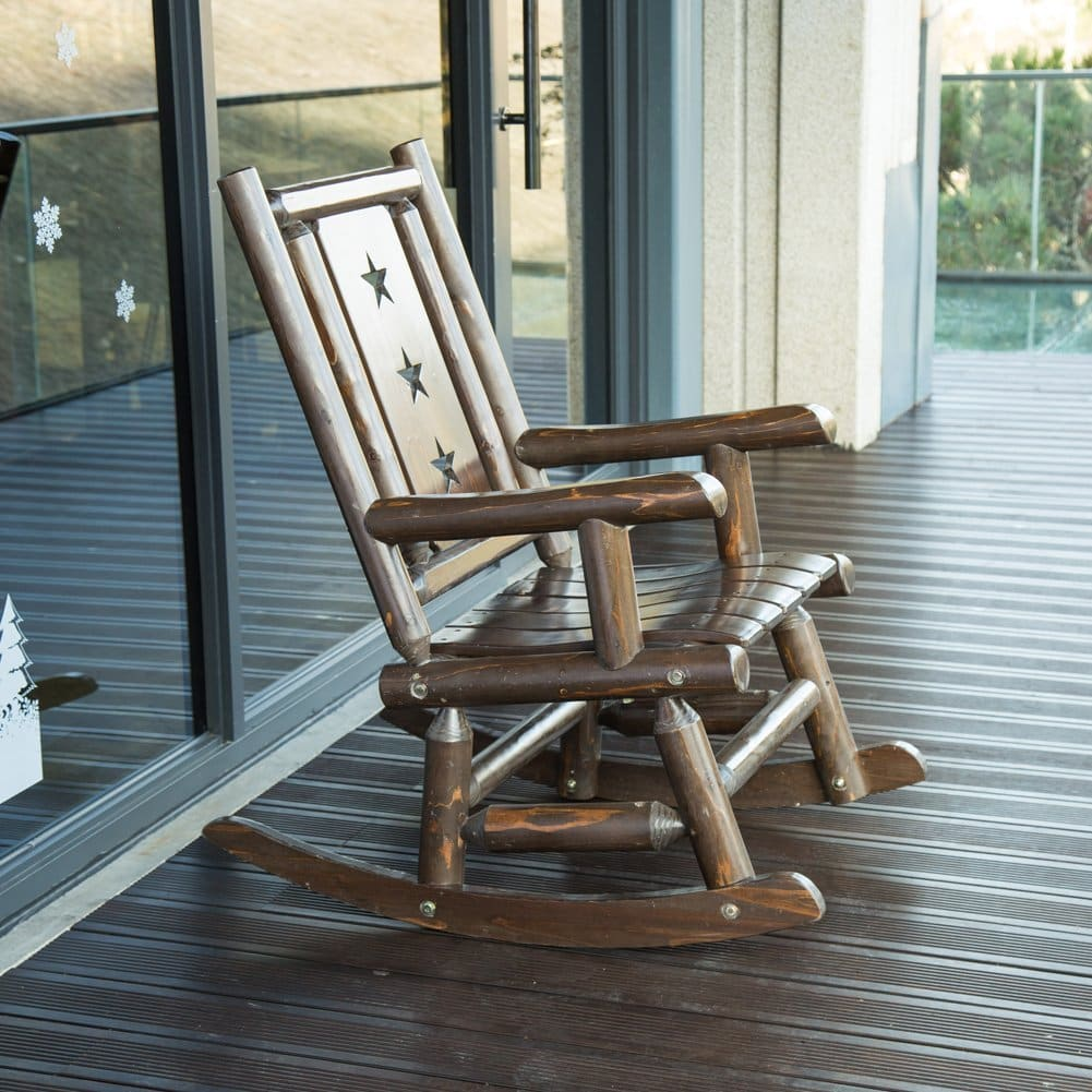 Rustic Heavy Duty Rocking Chairs