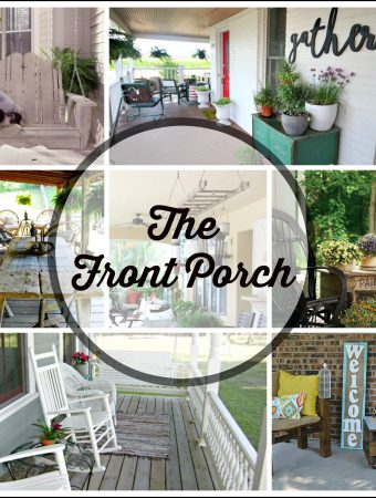 How to make your Front Porch Amazingly Inviting