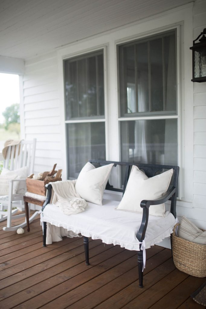 front porch love seat