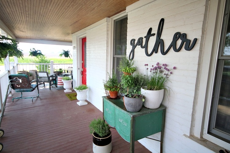 Front Porch, Farmhouse Porch