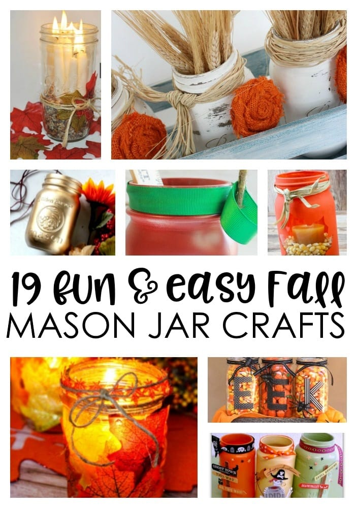cute mason jars, halloween mason jars
