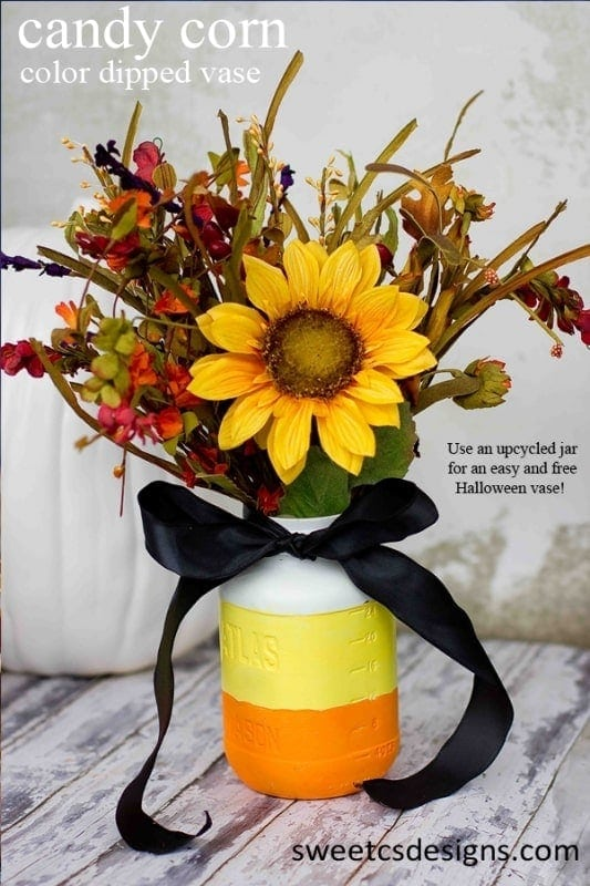 Fall Mason Jar craft, Mason Jar Flowers