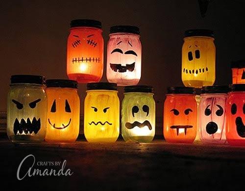 Fall Mason Jar decor, Cute Mason Jars