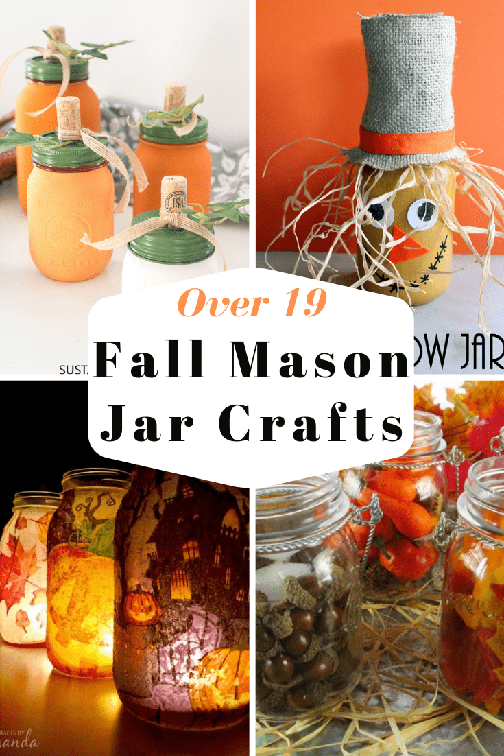 19 Fun and Easy Fall Mason Jar Crafts - My Turn for Us