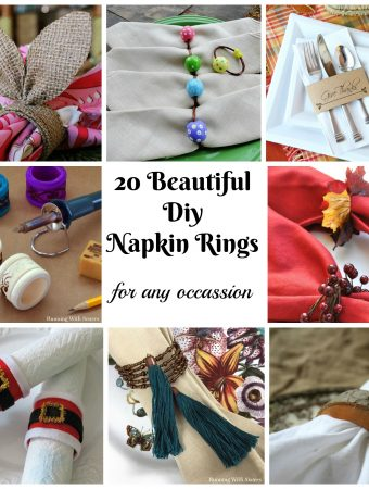 20 Beautiful DIY Napkin Rings for any Occassion