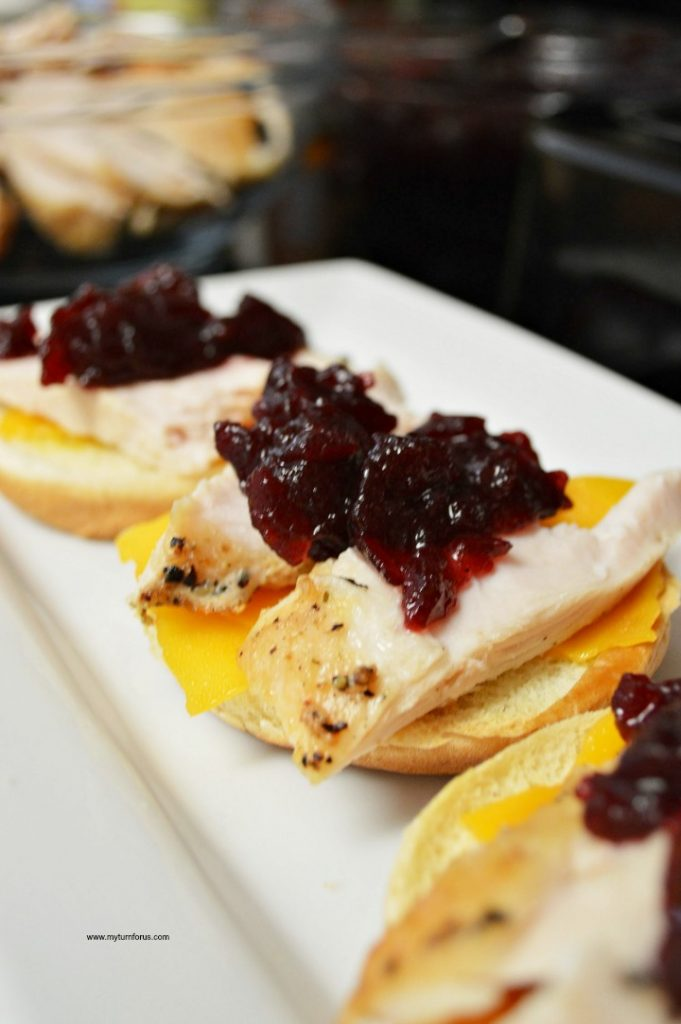 Leftover Thanksgiving Turkey Recipe, Turkey Cranberry Sliders