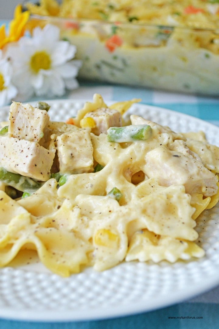 Chicken noodle casserole, turkey noodle recipe, turkey and noodles