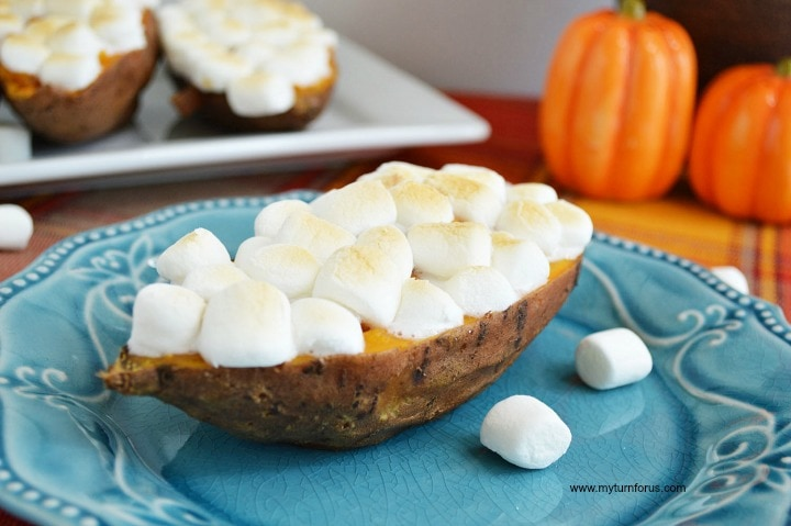 best way to make sweet potatoes, double baked sweet potatoes