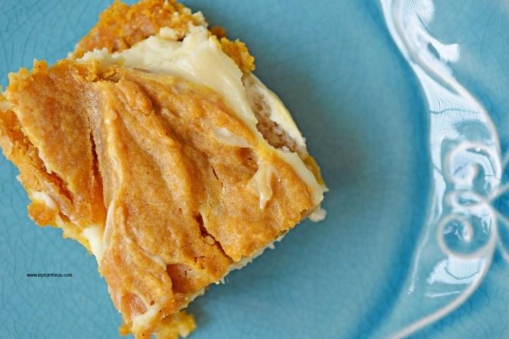 Pumpkin Cheesecake Bars, Pumpkin Cream Cheese Bars