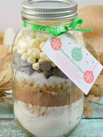The Best Triple Chocolate Chip Cookie Mix in a Jar Recipe