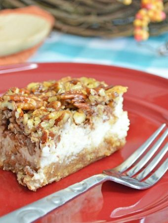How to Make the Best Pecan Pie Cheesecake Bars