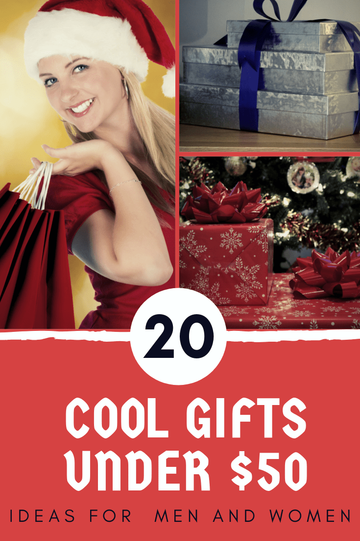 cool gifts under $50 for her, unusual ideas, gifts for men under $50, gift list, gifts under $50 for him