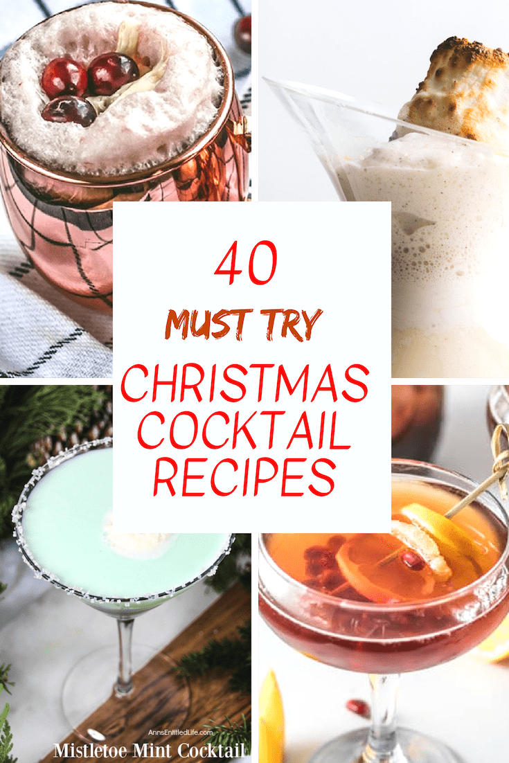 Christmas Cocktails, Christmas Martini, Christmas Moscow Mule, Christmas Sangria, Christmas Cocktail Recipes, Christmas Cranberry Cocktails, Christmas Hot Drinks