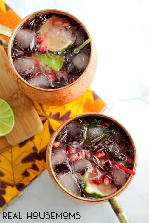 Christmas Moscow Mule