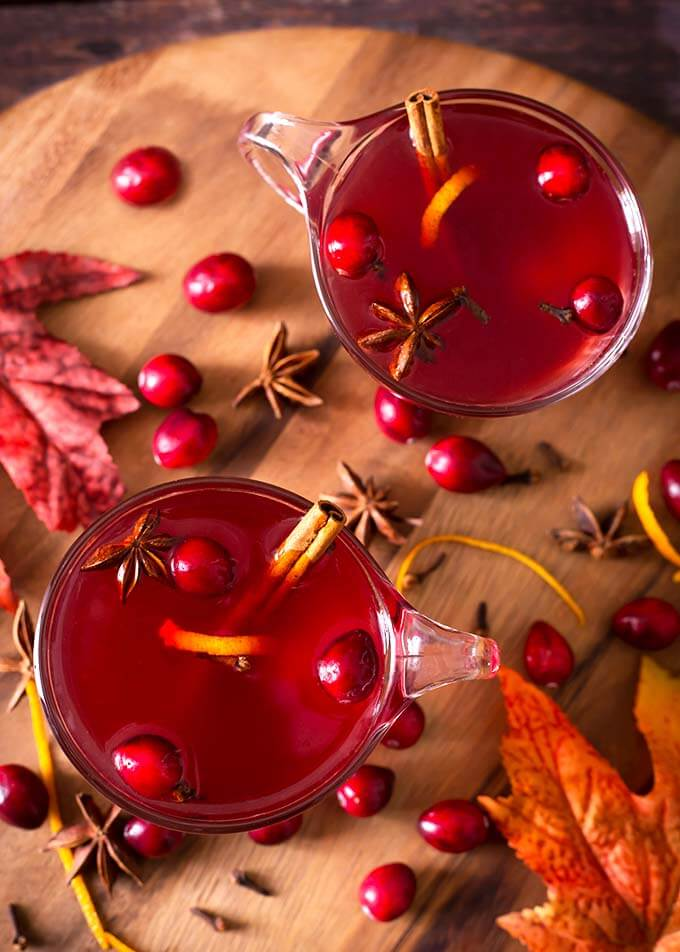 Hot Christmas Cocktails