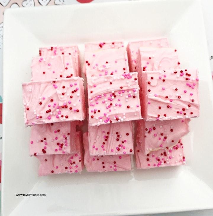 pink fudge
