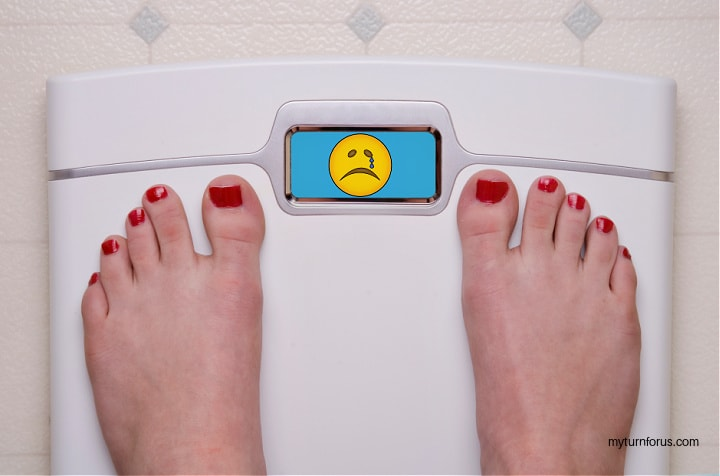 stress and weight loss Your goals aren't realistic
