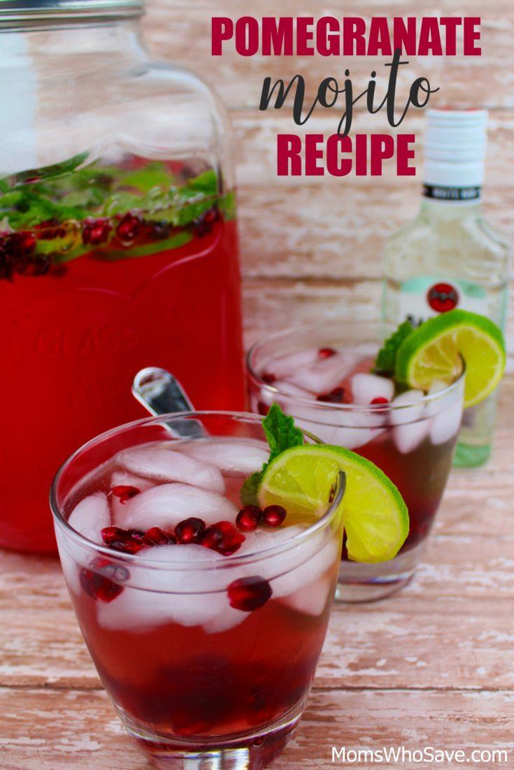 Pomegranate Mojito Recipe