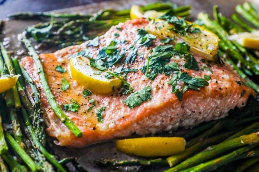 Sheet pan fish