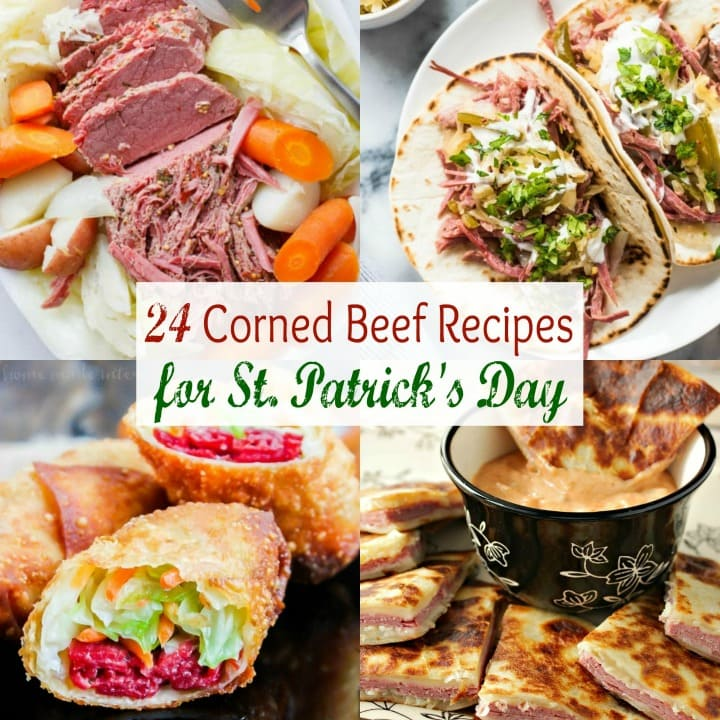 St Patrick's day food ideas, corned beef dishes, cooking corned beef in a slow cooker, leftover corned beef ideas, Corned Beef Casserole