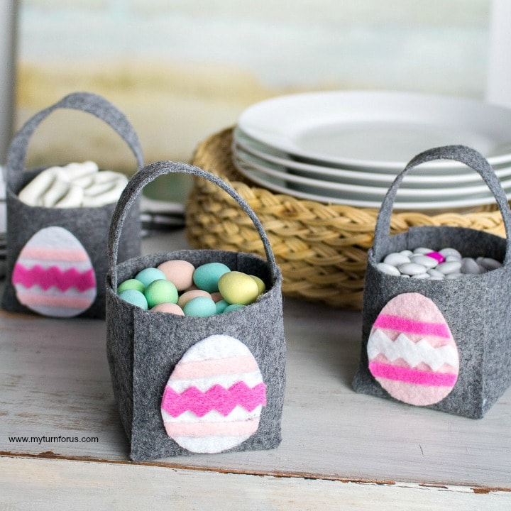 Easter Basket Craft, Mini Easter basket Craft