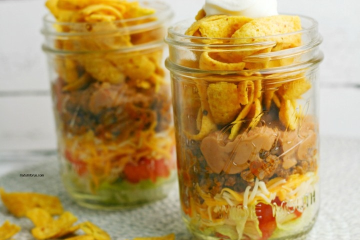 salad to go, walking taco recipe