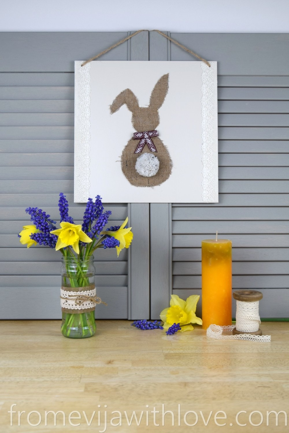 Rustic Easter Decorations, farmhouse easter
