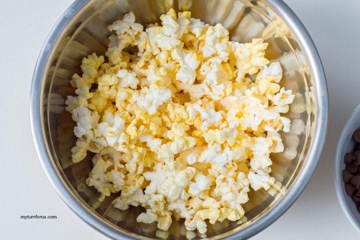 flavored popcorn, S'mores popcorn
