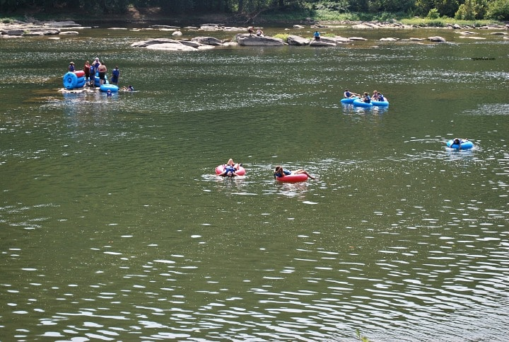 Texas River Tubing, Guadalupe river Float, floating down the river, Frio River Tubing