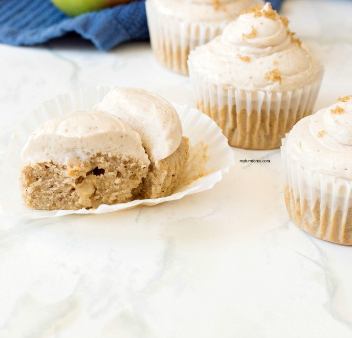 Cinnamon Apple Cupcakes, Apple Cinnamon Cupcakes