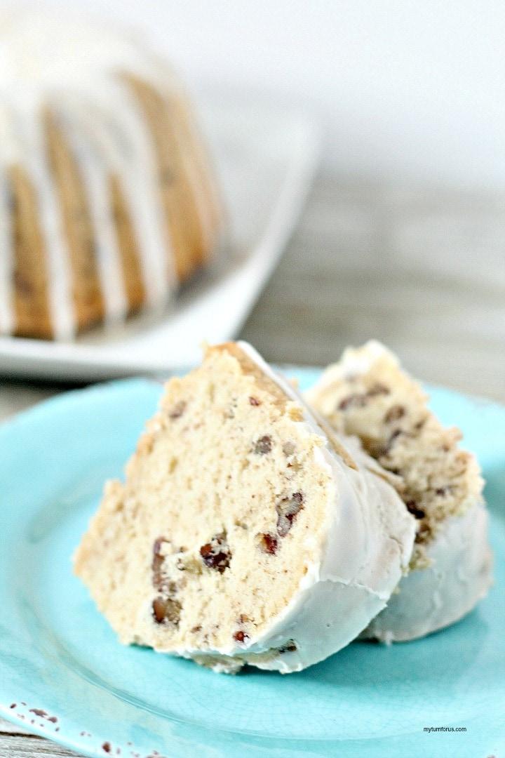 Butter Pecan Cake, pecan bundt cake