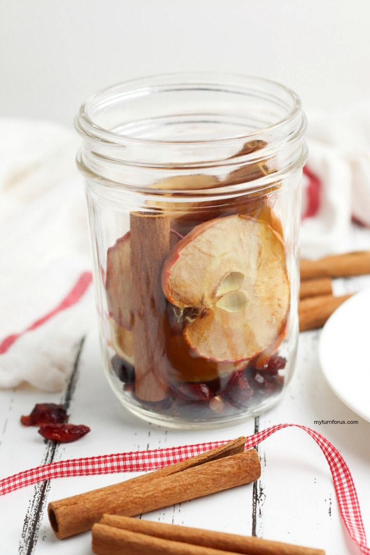 Christmas Potpourri, simmer pot, gift in a jar