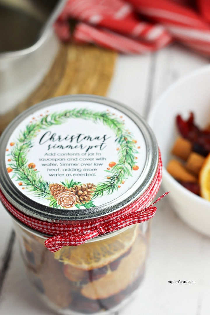 how to use potpourri, Christmas potpourri, simmer pot