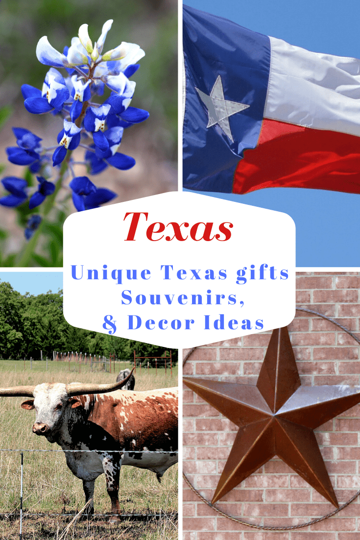 Texas Gifts, Unique Texas Gifts, Texas Decor, Texas Gift Baskets, Texas Souvenirs