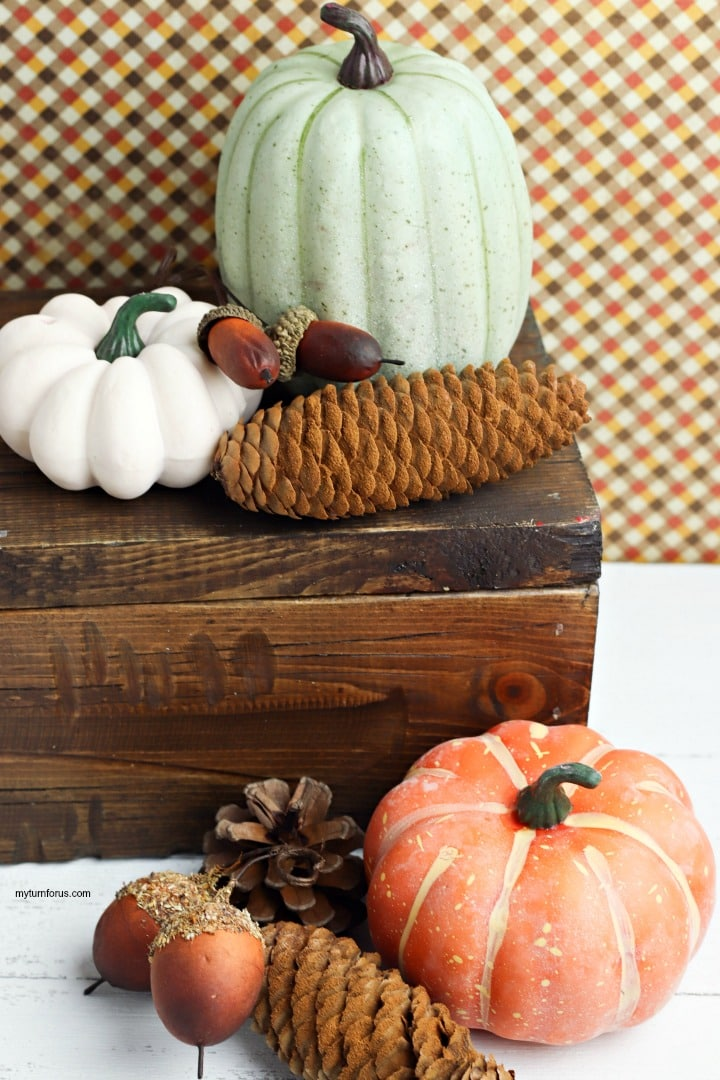 Cinnamon Scented Pine Cones, uses for fallen pine cones, pinecone uses