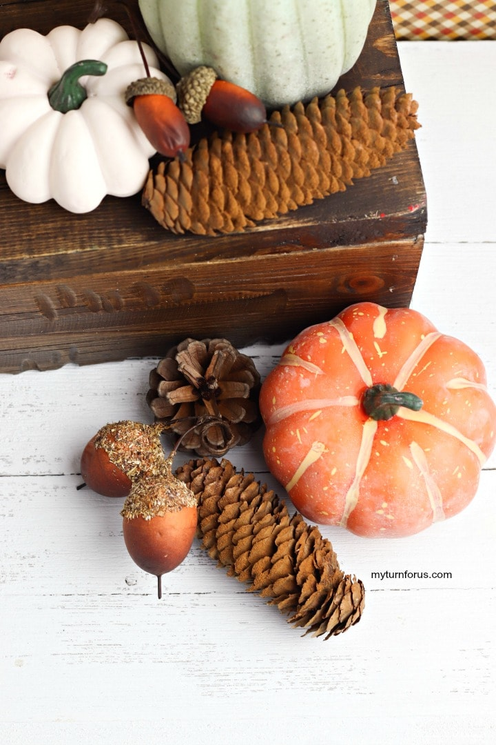 Cinnamon pinecone, pinecone home decor