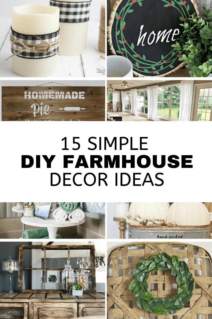 DIY Vintage Farmhouse Decor, unique farmhouse decor, farmhouse projects