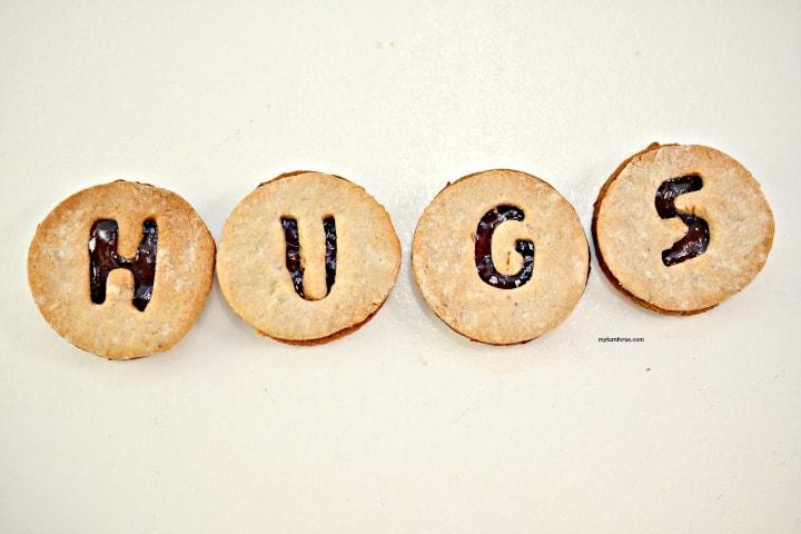 cherry jam cookies