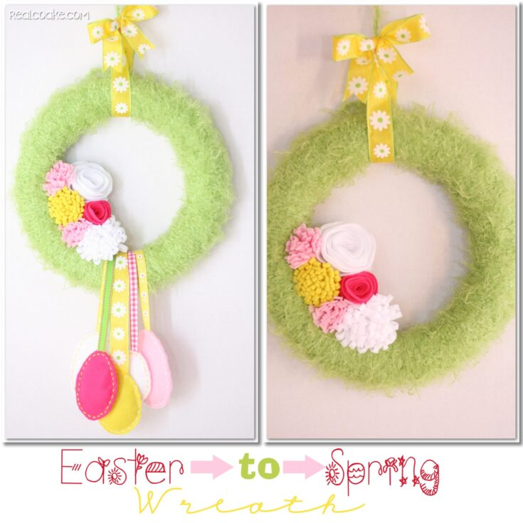 Easter to Spring DIY Wreath