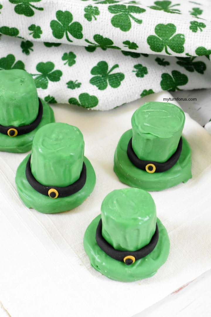 st patrick's day cookies, st patricks day snacks for kids
