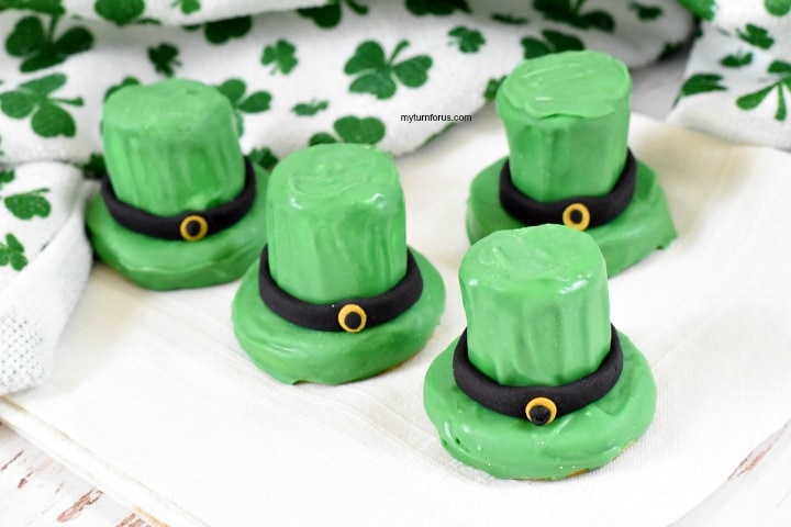 st patty's day cookies, cookies hats