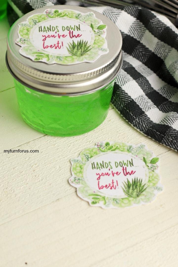 mini hand sanitizer favors