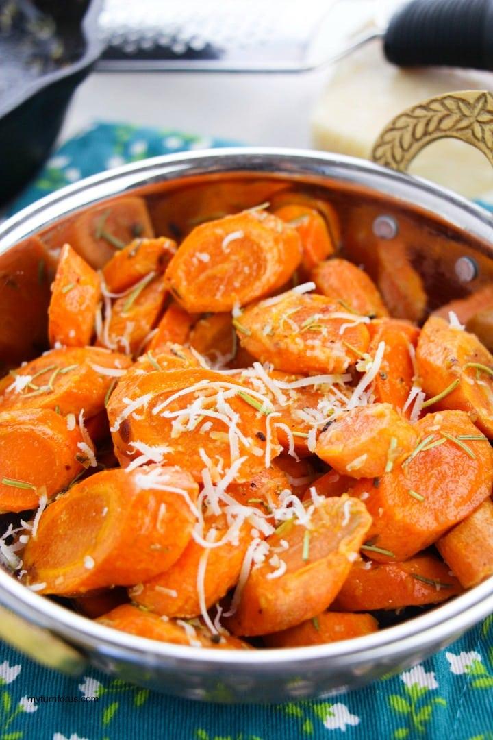 Pan Fry Carrots