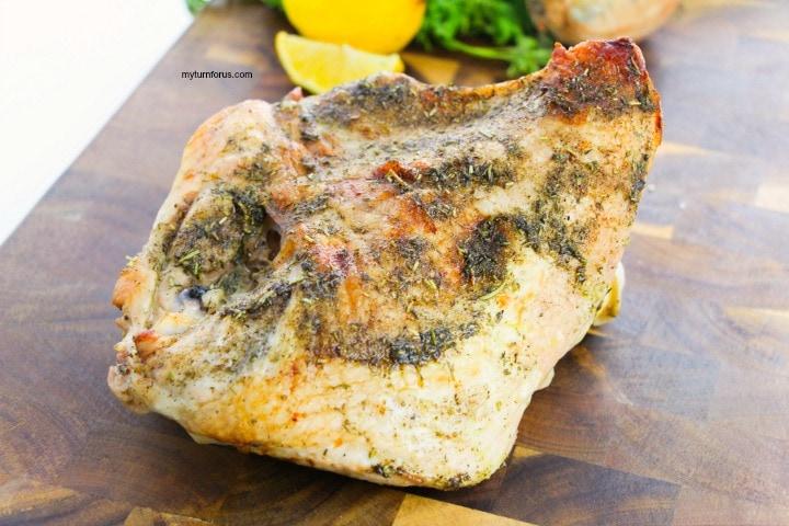 savory turkey breast recipe for half turkey breast
