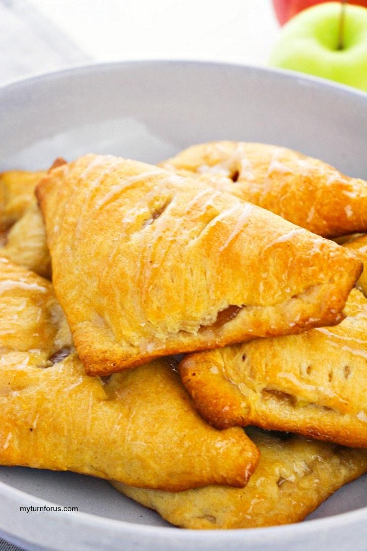 glazed apple hand pies